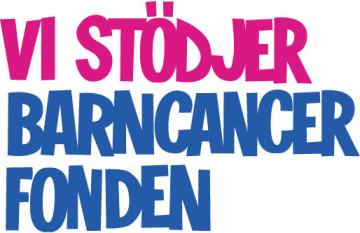TRGM Vi stödjer Barncancerfonden